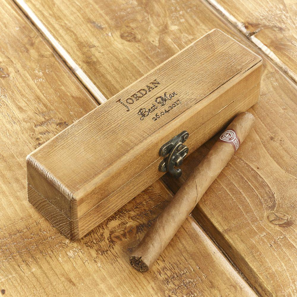 Best man cigar box