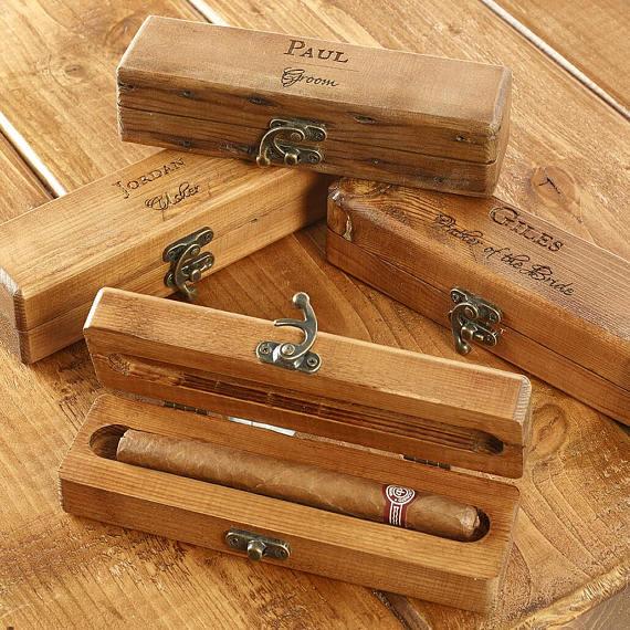 wedding cigar box