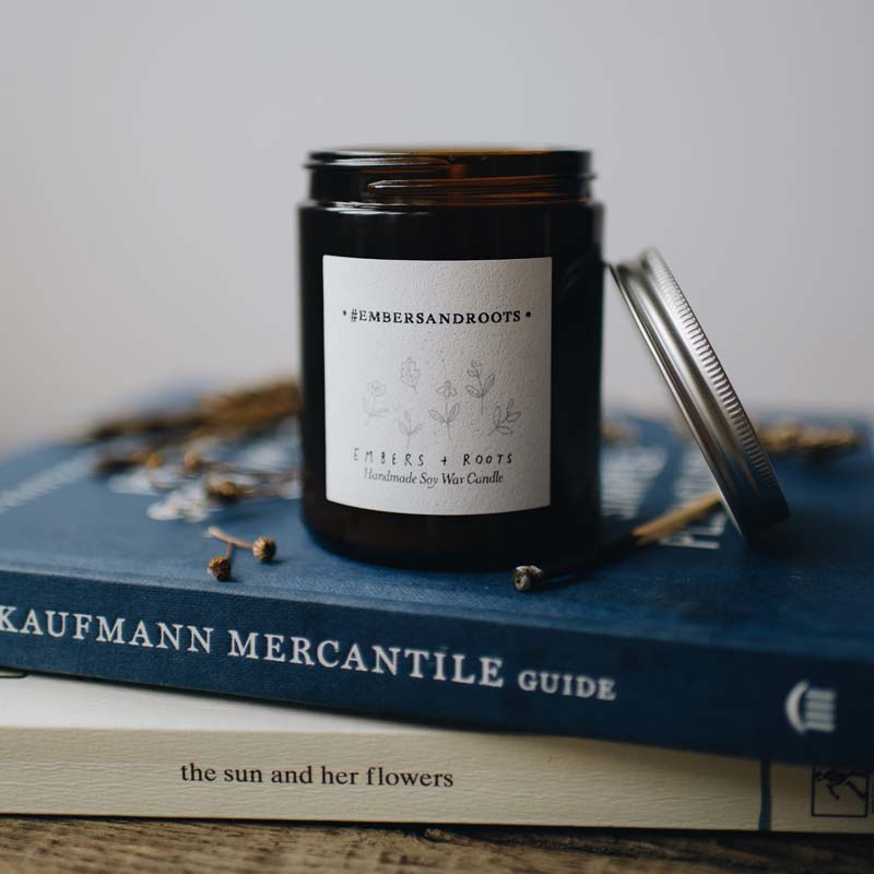 personalised custom candle