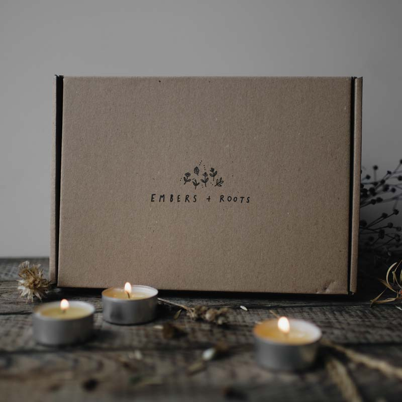 tealight sample box