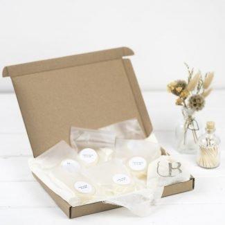tea light sample box