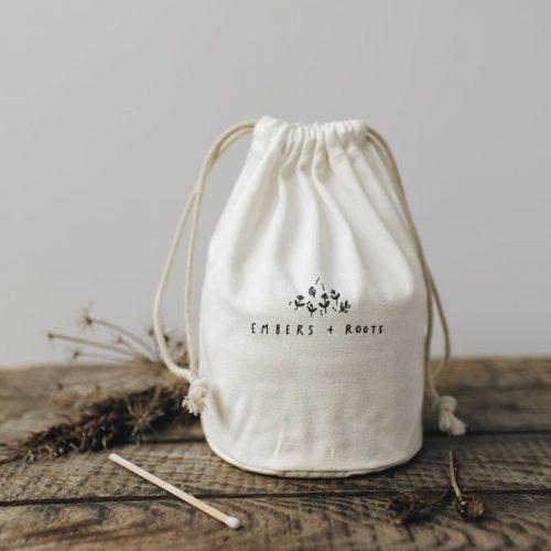 cotton canvas gift bag