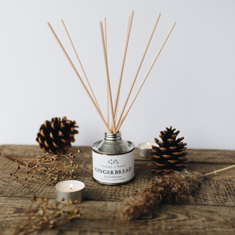 Gingerbread Reed Diffusers
