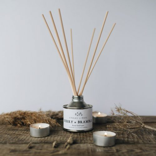 berry & bramble reed diffuser