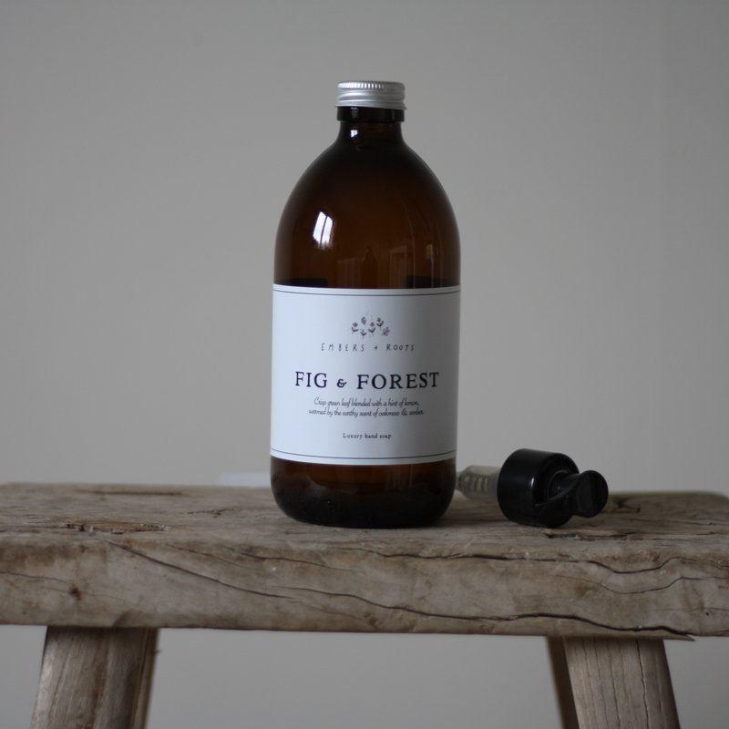 fig and forest hand and body wash